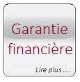 Glass button gris Assurance Garantie financiere