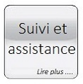 Glass button gris Suivi et assistance