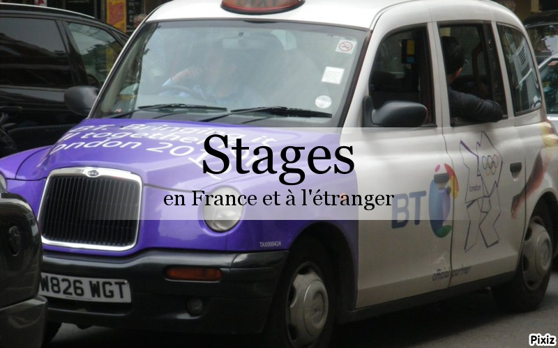 Stages en France et à létranger